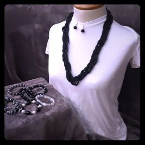Jewelry - Necklace, earrings, bracelet bundle